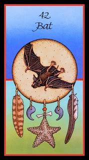 Medicine Card -Bat